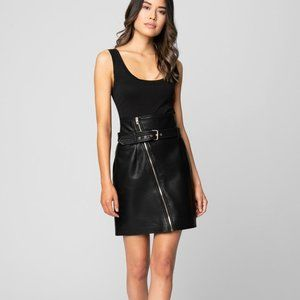 NWT BLANK NYC It Takes Two Faux Leather Skirt